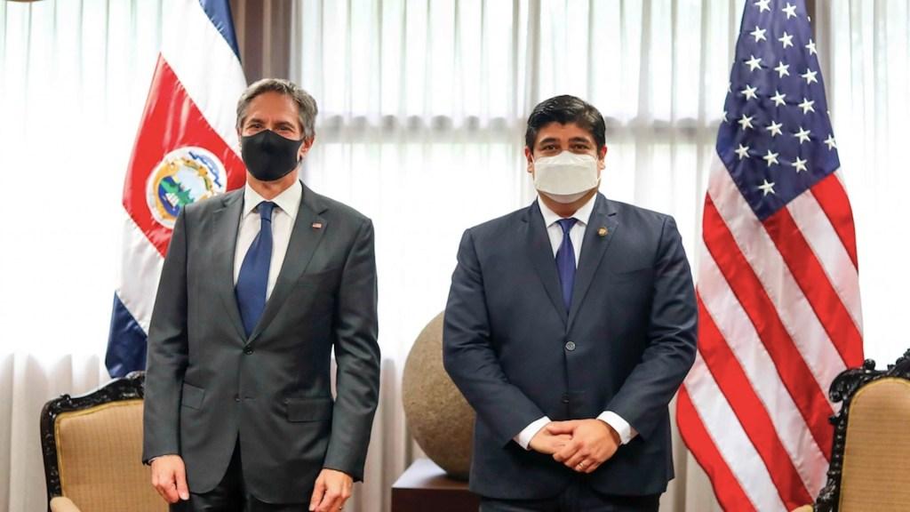 Blinken llega a Costa Rica para abordar tema migratorio en Centroamérica con funcionarios mexicanos - Blinken llega a Costa Rica para abordar tema migratorio en Centroamérica. Foto de EFE