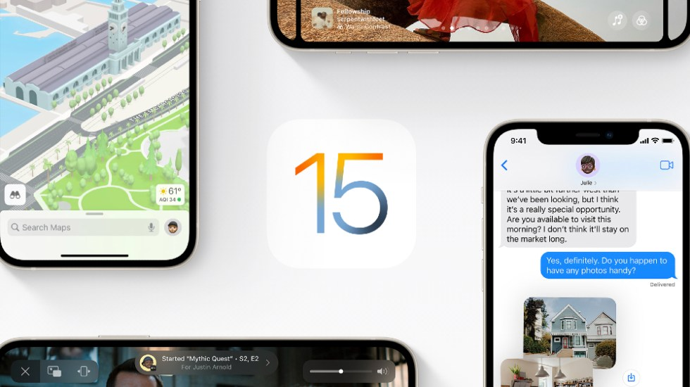 Apple presenta sistema operativo iOS 15 y abre FaceTime - Apple iOS 15