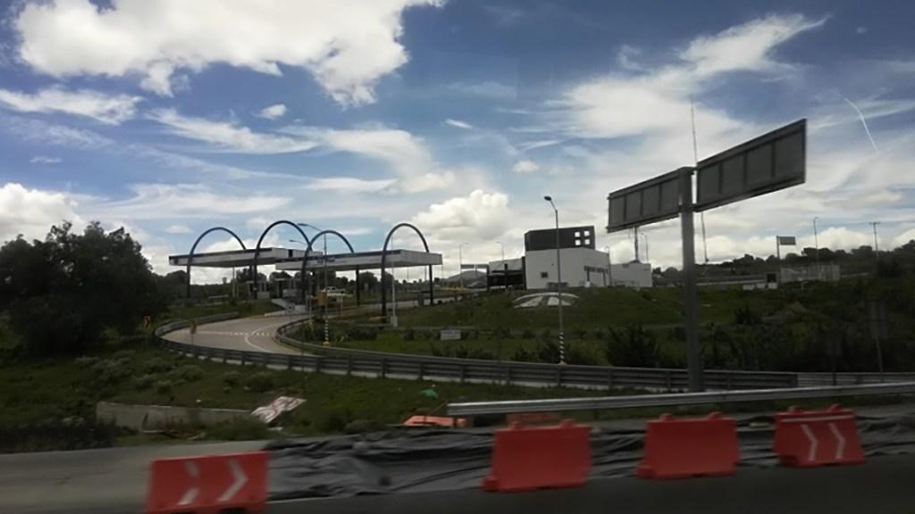 Asaltan a más de 40 automovilistas en Arco Norte - Autopista Arco Norte a la altura de Sanctórum, Tlaxcala. Foto de Google Maps / Rodolfo Rodriguez