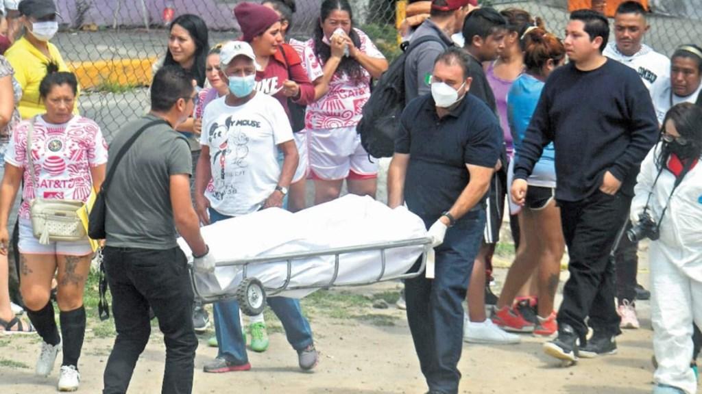 Asesinan a dos primos en Tlalnepantla durante partido de futbol - Asesinato de primos en Tlalnepantla. Foto de El Universal