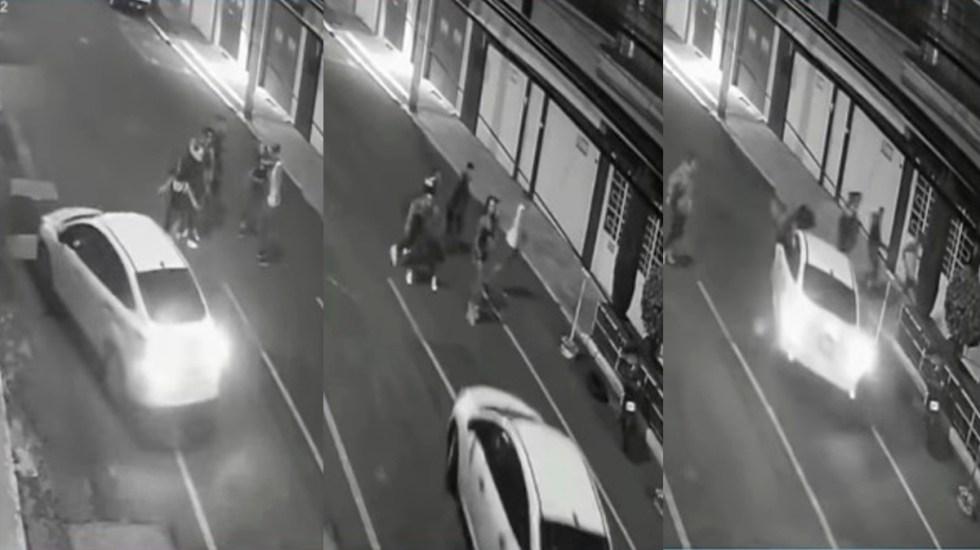 #Video Sujeto atropella a jóvenes que intentaron impedir que manejara ebrio - Dan de alta a Fernanda Cuadra, joven atropellada en Iztacalco; presenta parálisis facial. Captura de pantalla