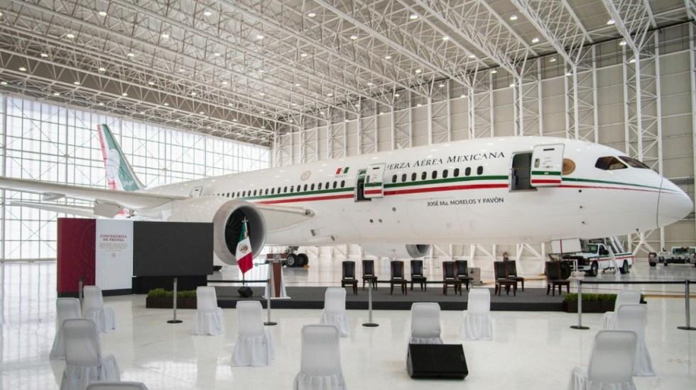 Gobierno pide 475 mdp para arrendamiento del Avión Presidencial - Avión presidencial México