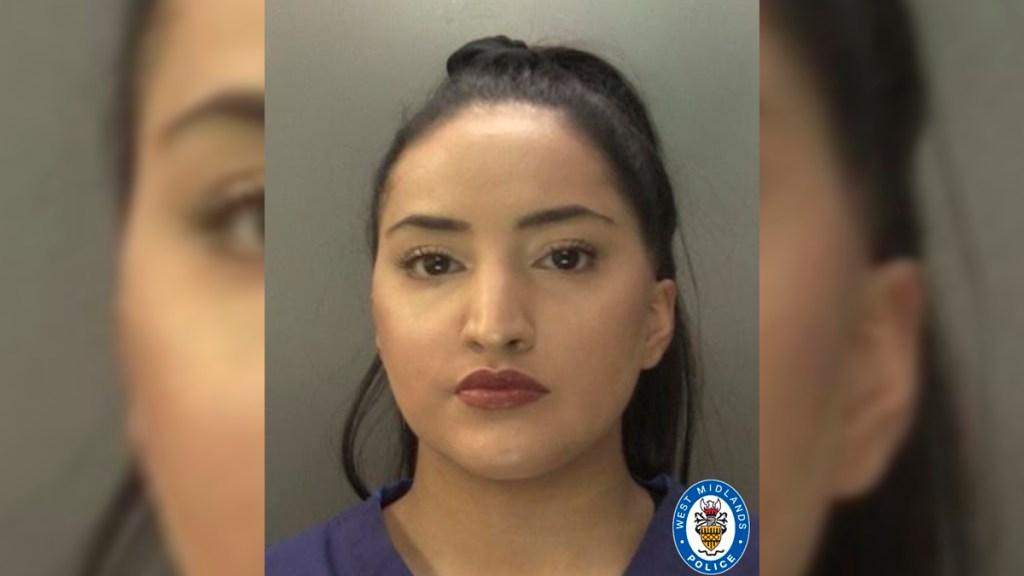Enfermera roba tarjeta de paciente muerta por COVID-19 y compra papas y dulces - Ayesha Basharat, enfermera detenida por robar tarjeta de paciente muerta por COVID-19. Foto de West Midlands Police