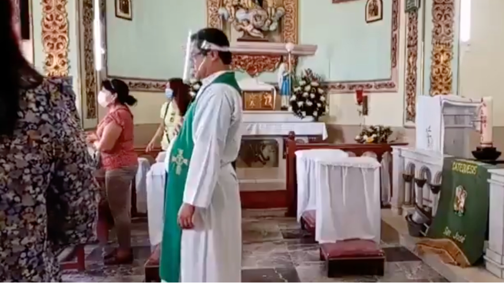Balacera Parroquia Iguala Guerrero