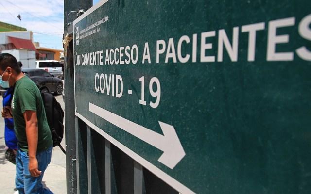 Así se puede tramitar la incapacidad por COVID-19 ante IMSS - Situación del COVID-19 en México. Foto de EFE