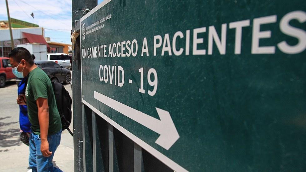 México registró este domingo 7 mil 573 casos y 172 muertes por COVID-19 - Situación del COVID-19 en México. Foto de EFE