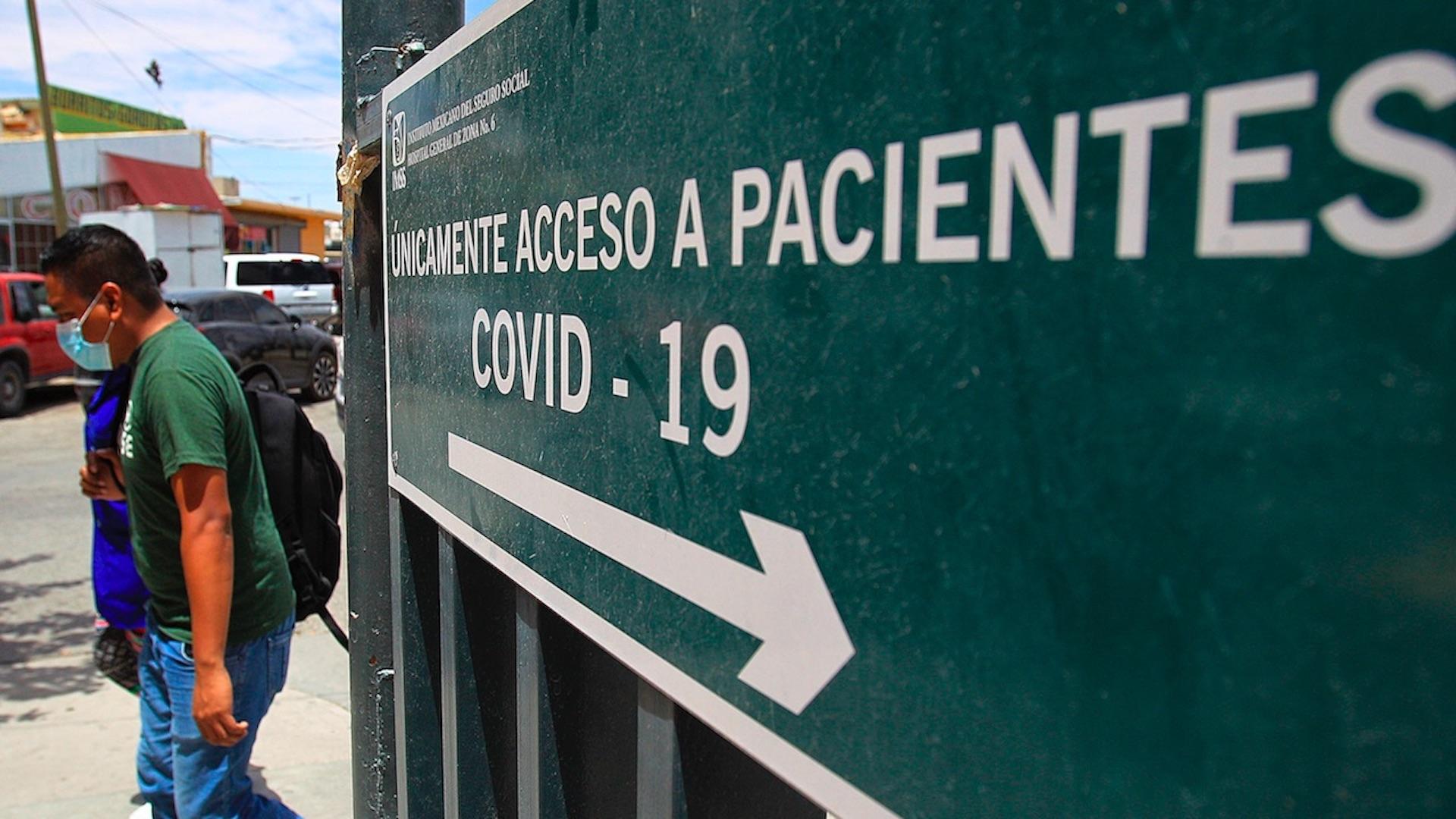 Situación del COVID-19 en México. Foto de EFE