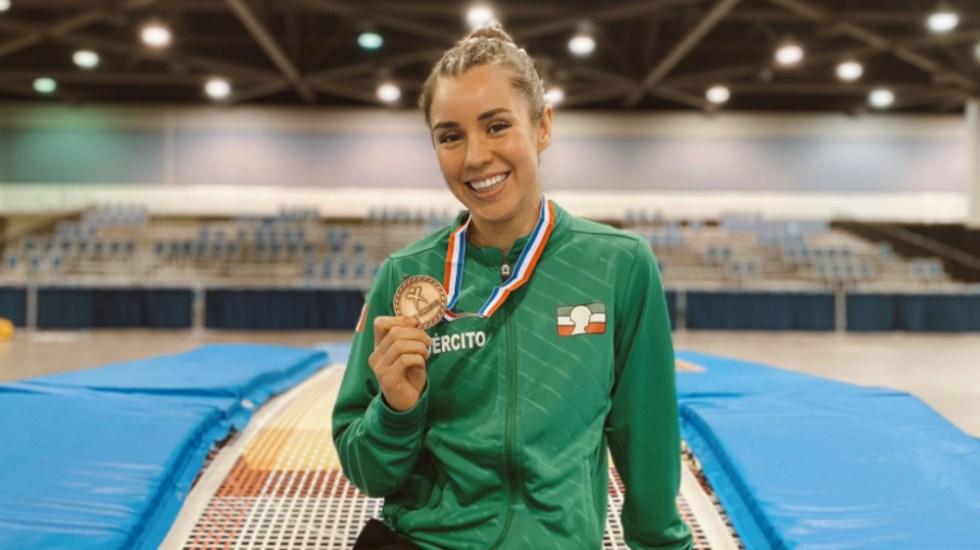 México irá a Tokio con representante en cada modalidad de gimnasia - Dafne Navarro gimnasia
