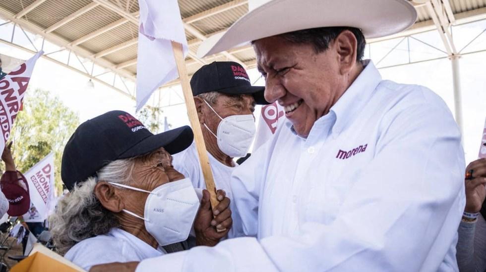 David Monreal Ávila de Morena se lleva Zacatecas - David Monreal Ávila Zacatecas