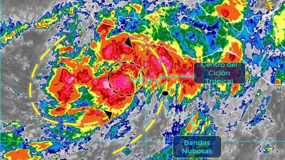 Depresión tropical Cuatro-E ocasionará lluvias en seis estados