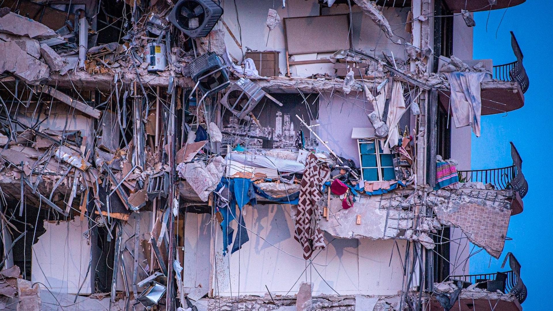 Declaran estado de emergencia en Miami-Dade por derrumbe. Foto de EFE
