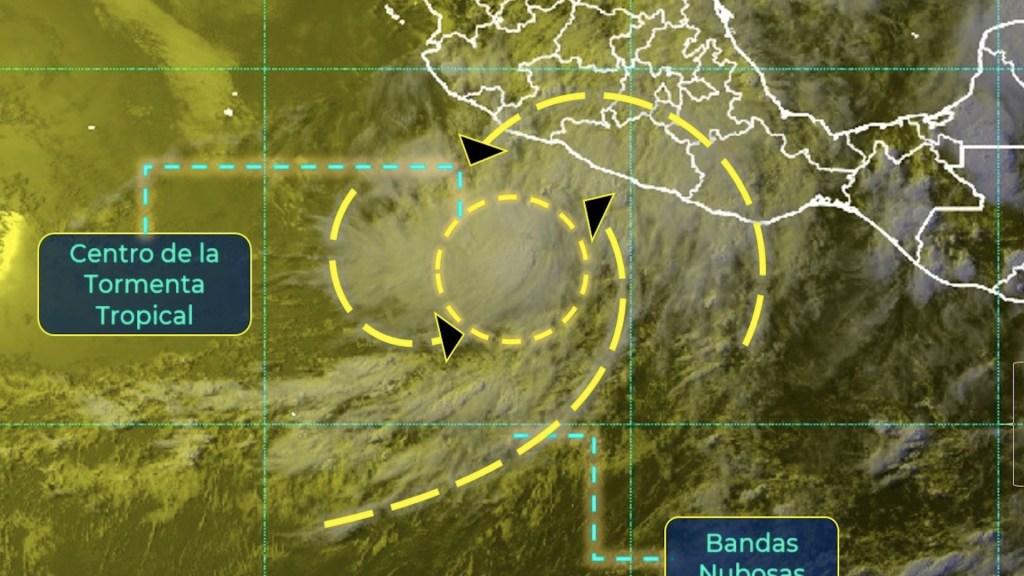 "Tormenta tropical Dolores se encuentra ""muy cercana"" a costas mexicanas - Tormenta tropical Dolores se encuentra"