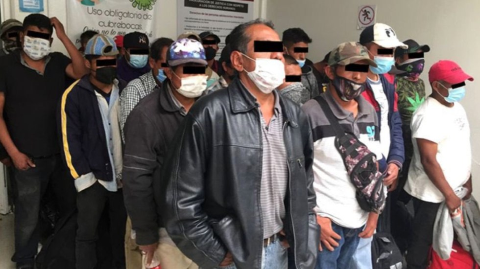 Detienen a 33 personas en Naucalpan por presuntos delitos electorales - Edomex detenciones delitos electorales Naucalpan