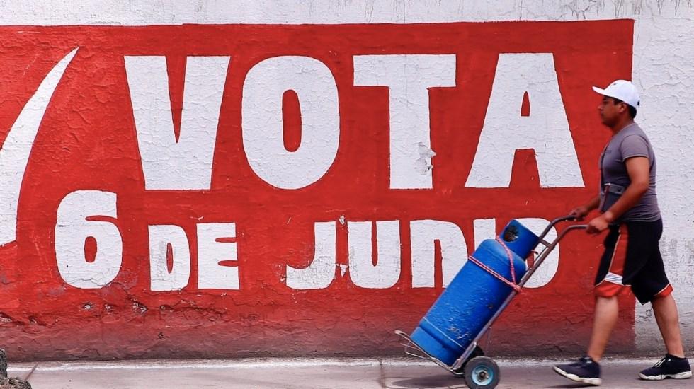 Marcar más de un partido en una coalición no anulará el voto - Marcar más de un partido en una coalición no anulará el voto. Foto de EFE