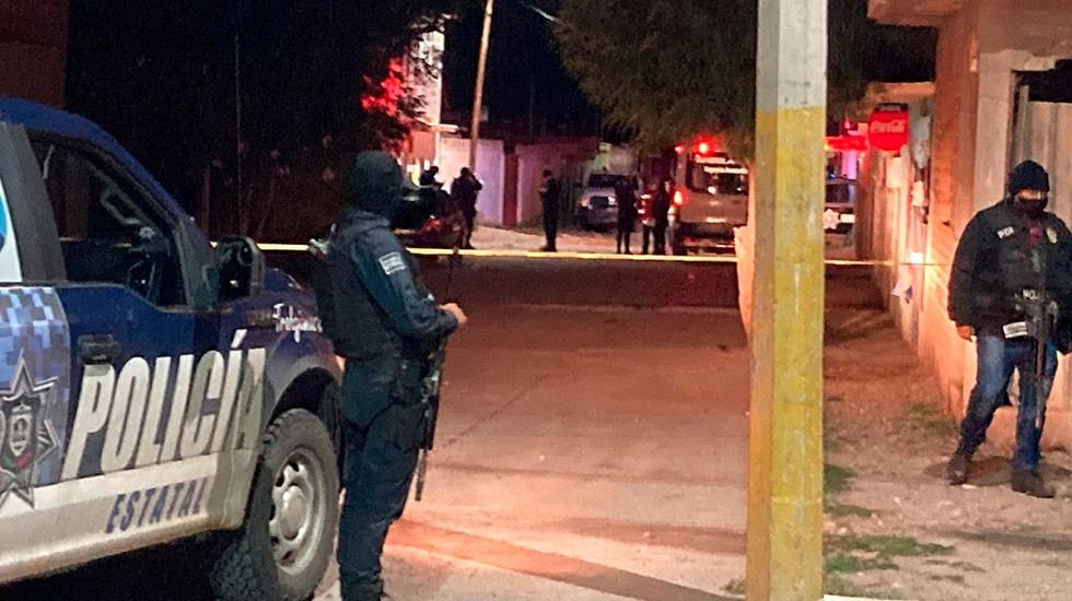 Suman 88 mil 69 homicidios dolosos en lo que va del sexenio - Escena del crimen en Zacatecas por asesinato de nueve personas. Foto de EFE