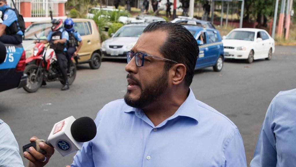 Policía de Nicaragua detiene a tercer aspirante opositor a la Presidencia - Policía de Nicaragua detiene a tercer aspirante opositor a la Presidencia. Foto de EFE