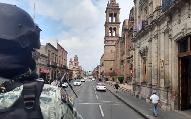 Casi 17 mil agentes reforzarán seguridad en Michoacán - Guardia Nacional en Michoacán. Foto de SSPC