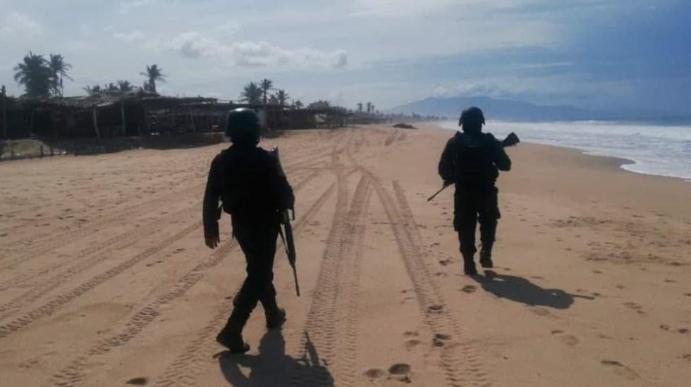 Guerrero baja 12.6% los homicidios dolosos en primeros cinco meses de 2021 - Guerrero policías Coyuca de Benítez