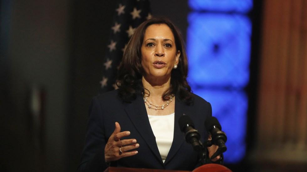 Estoy aquí para renovar la asociación de EE.UU. con México: Kamala Harris - Kamala Harris. Foto de EFE