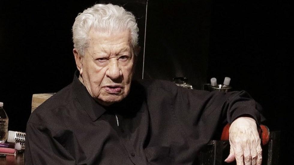 A sus 96 años, Ignacio López Tarso se niega a retirarse - Ignacio López Tarso actor México