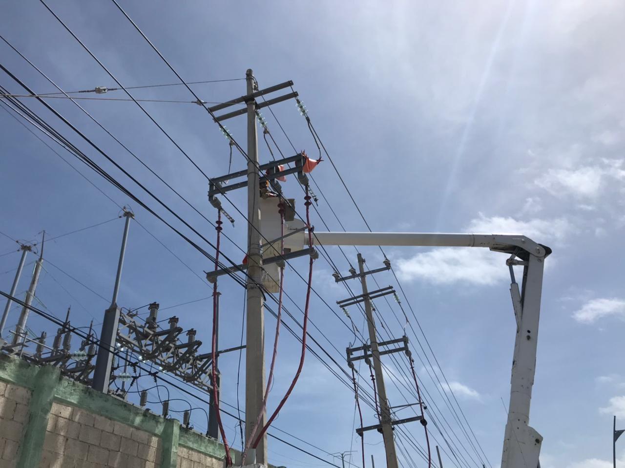 Restablecen suministro eléctrico en Playa del Carmen, Quintana Roo