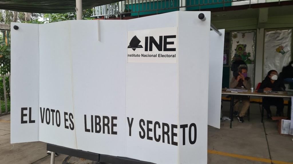 Crimen organizado INE casilla elecciones México 2