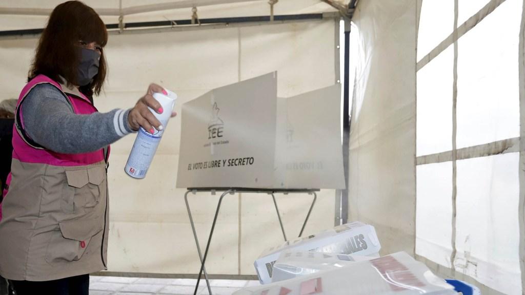 INE afirma que 11 casillas suspendieron votación por violencia - INE Elecciones México Puebla casillas