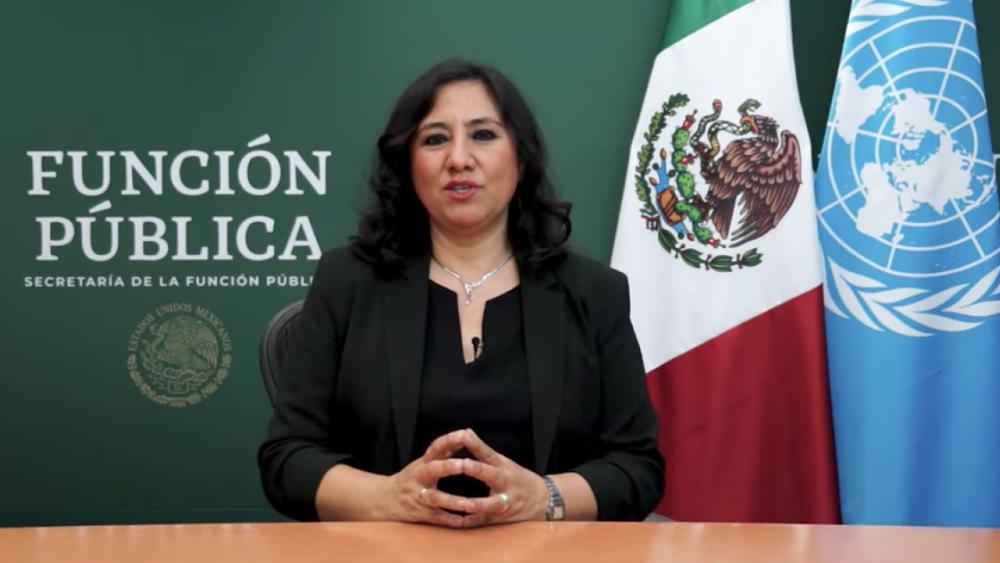 México está dando frutos en combate a corrupción: Sandoval ante ONU - Irma Eréndira Sandoval SFP ONU corrupción