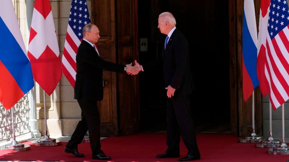 Empieza la cumbre entre Joe Biden y Vladímir Putin en Ginebra - Joe Biden Vladímir Putin Ginebra Rusia EEUU