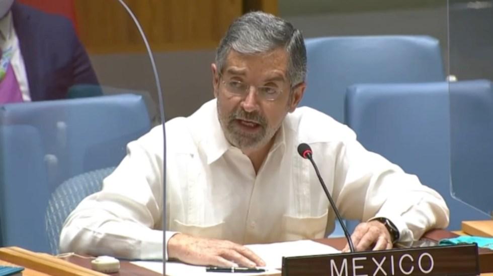 """""""Habrá gran interés en escuchar al presidente López Obrador en la ONU"""": embajador De la Fuente - Juan Ramón de la Fuente ONU México"""