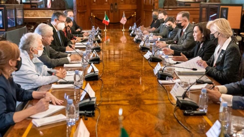 Los acuerdos alcanzados por Estados Unidos y México tras encuentro bilateral - Kamala Harris Estados Unidos México López Obrador encuentro bilateral