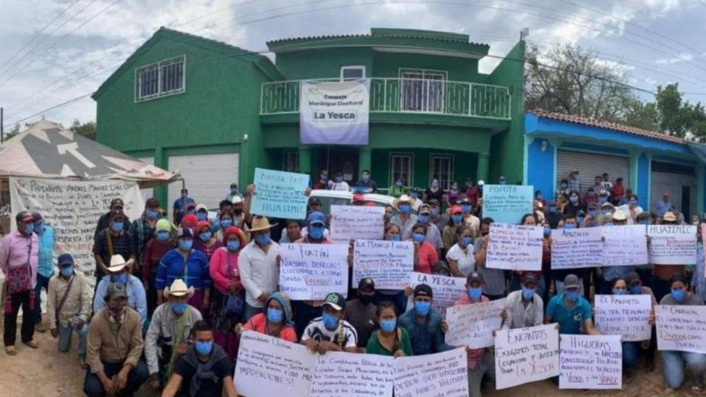 Suspenden elecciones en La Yesca, Nayarit, para evitar conflictos en la localidad - La Yesca Nayarit elecciones 2021