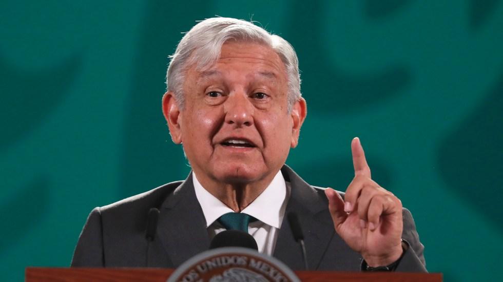 """WSJ celebra 'dura reprimenda' a Morena en elecciones; """"resultado debilita a AMLO"""", sostiene - López Obrador en conferencia de prensa. Foto de EFE"""