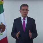 Primer mensaje de Lorenzo Córdova, presidente del INE con motivo de las elecciones