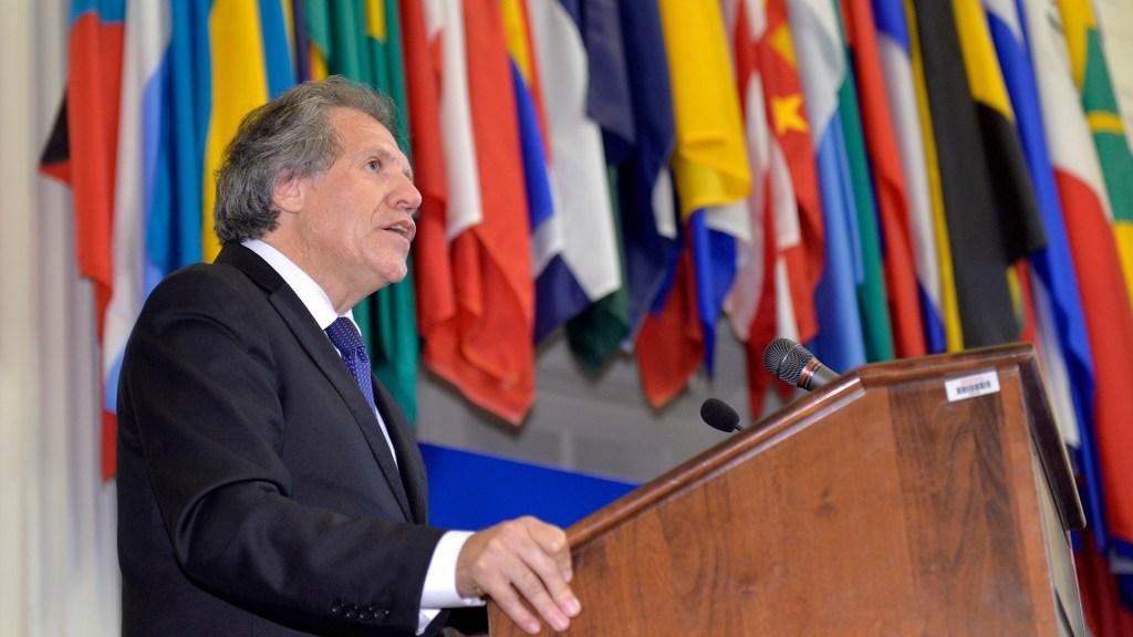 OEA abordará situación en Nicaragua en sesión extraordinaria - Luis Almagro ante Consejo Permanente de la OEA. Foto de OEA / Flickr
