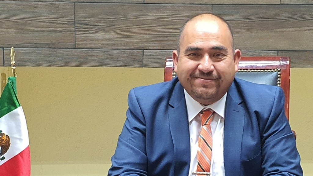 Asesinan a alcalde de Zapotlán de Juárez, Hidalgo - Manuel Aguilar, alcalde de Zapotlán de Juárez. Foto de Facebook