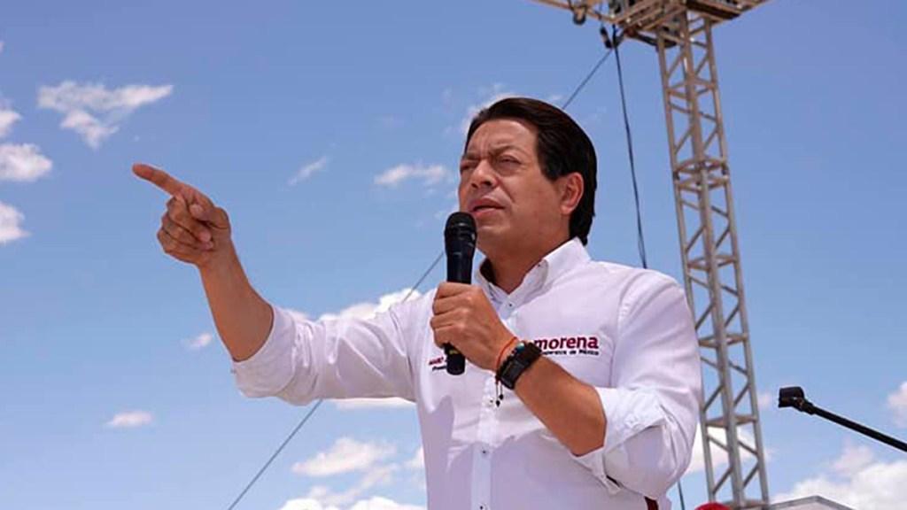 """Mario Delgado llama """"ridículos"""" a Vox y al PAN por luchar contra comunismo - Mario Delgado, presidente de morena"""