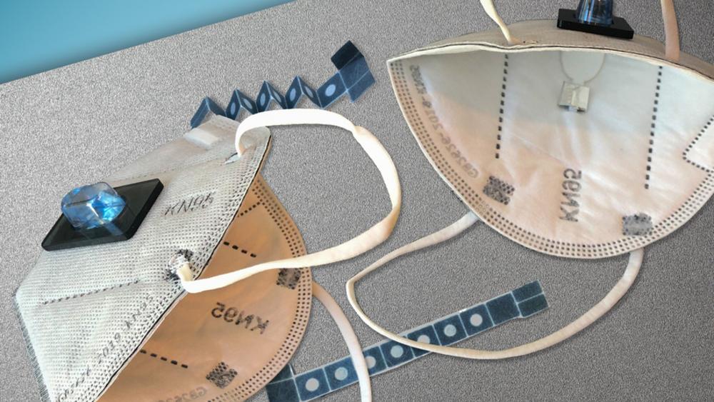 Cubrebocas puede detectar infección por COVID-19 en 90 minutos - mascarilla detecta COVID MIT