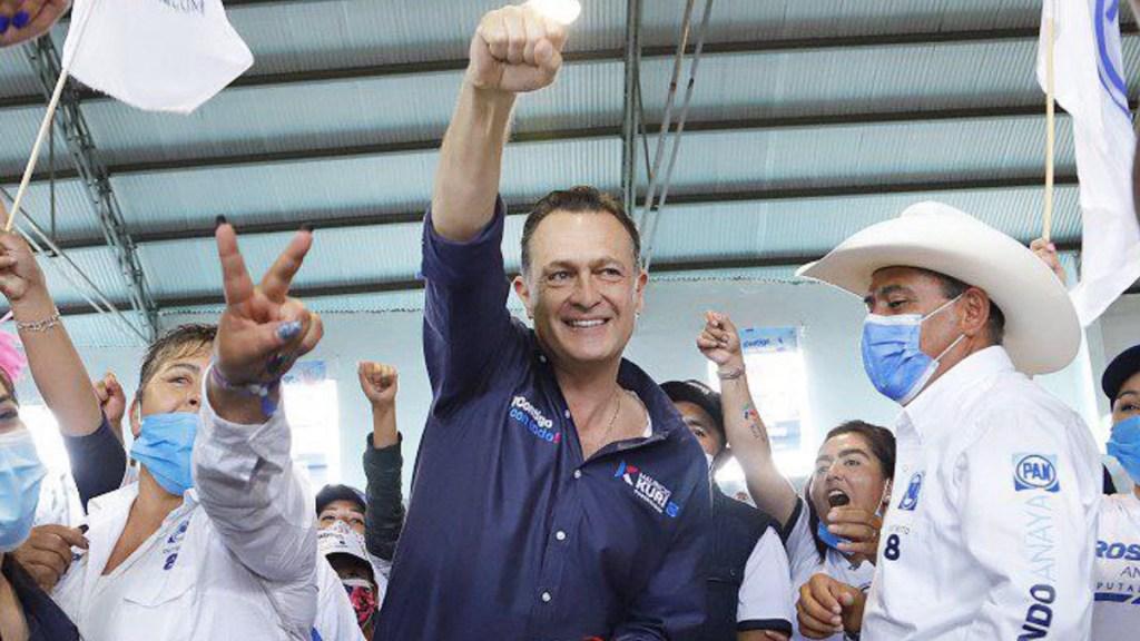 Mauricio Kuri aventaja en Querétaro - Mauricio Kuri. Foto de Twitter @makugo