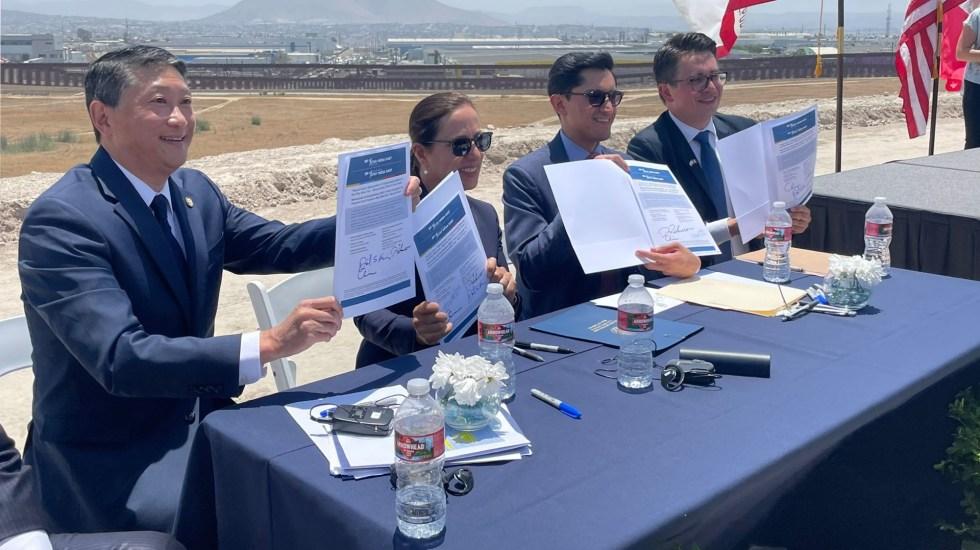 México y California firman acuerdo para macroproyecto de infraestructura fronteriza - México California acuerdo proyecto infraestructura
