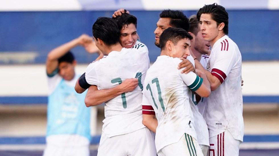 Los sub-23 de México remontan a Australia en Marbella - México olímpica Tricolor Australia