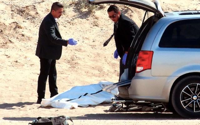 Migrante mexicano muere al caer del muro fronterizo en Texas - Migrante mexicano muere al caer del muro fronterizo en Texas. Foto de EFE