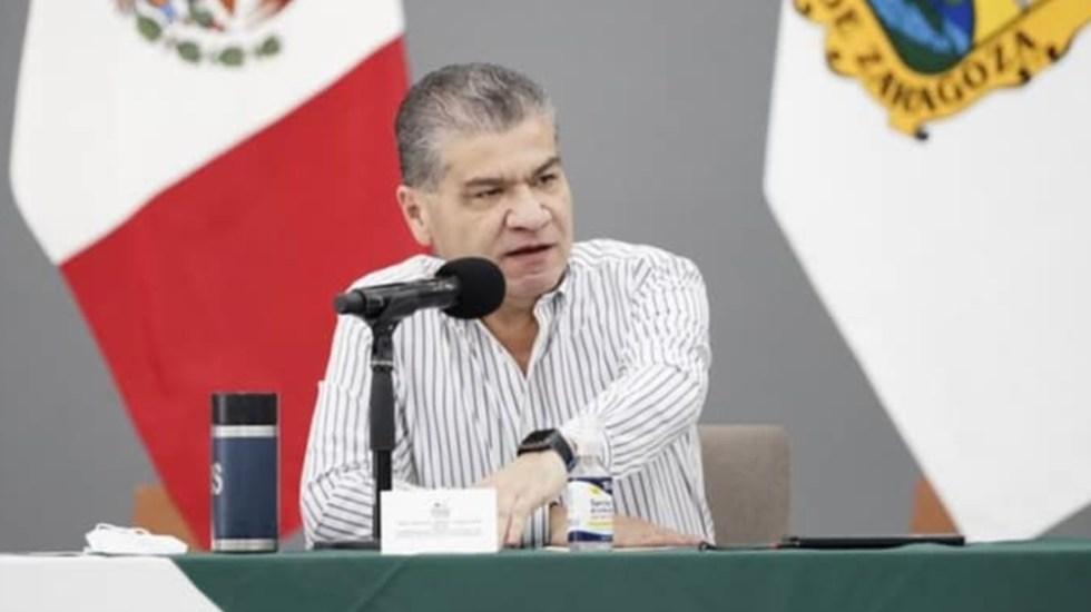Riquelme a Bartlett: No tengo ningún interés en ninguna empresa de carbón - Miguel Riquelme Coahuila