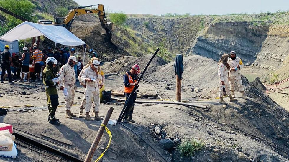 Recuperan cuerpo de sexto minero en Múzquiz, Coahuila - Mina Micarán en Múzquiz, Coahuila. Foto de @CNPC_MX