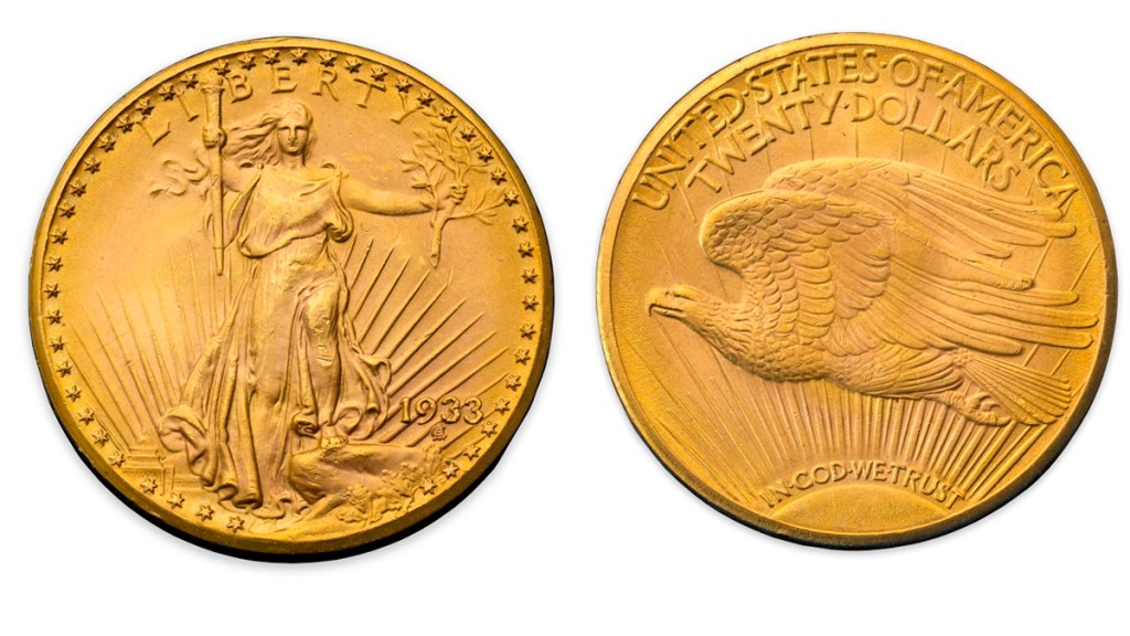 Subastan por 18.9 millones de dólares una moneda, la más cara del mundo - Moneda subastada. Foto de Sotheby's