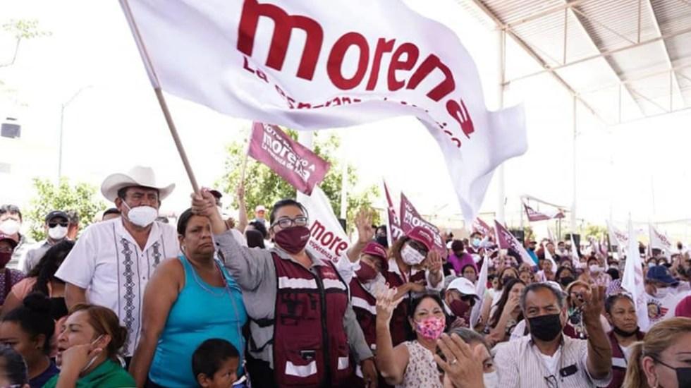 """AMLO ironiza sobre lo """"mal"""" que le fue a Morena en elecciones - Morena simpatizantes"""