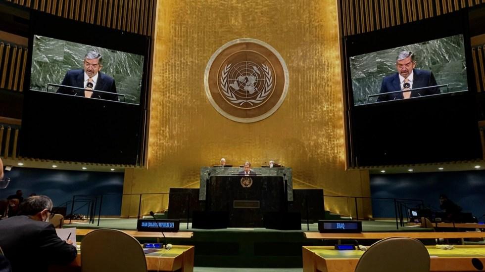 México reitera oposición al uso del veto en el Consejo de Seguridad de la ONU - ONU Naciones Unidas México Juan Ramón de la Fuente