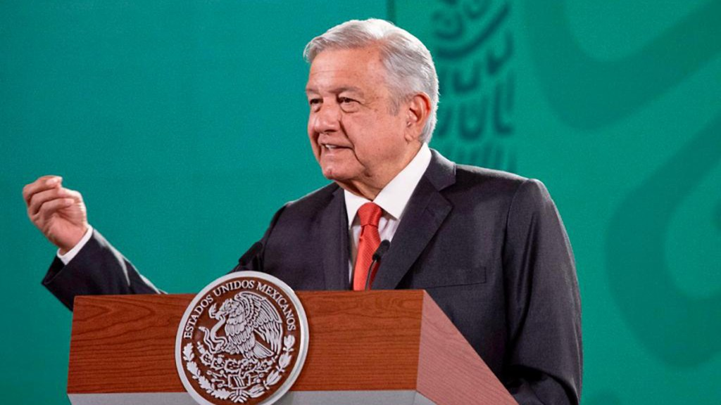 "López Obrador asegura ante empresarios que no habrá ""ninguna confrontación"" - Presidente López Obrador. Foto de Gobierno de México"