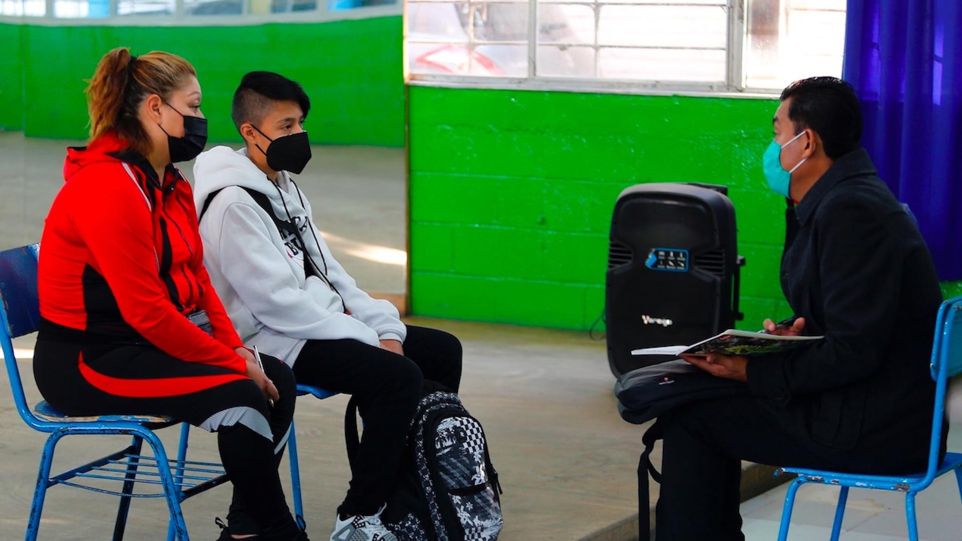 SEP México, Ecuador y Uruguay reabren sus aulas en medio de la pandemia. Foto de EFE