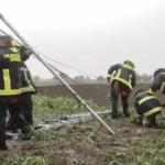 #Video Rescatan a perros atrapados en socavón de Puebla